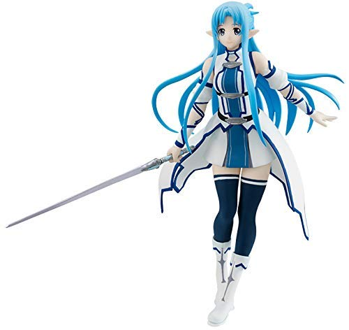 Pvc Action Figure Model Collection Toys Gift Practical Japan Anime Sword Art Online Exq Code Figure Yuuki Asuna Swimsuit Ver Toys & Hobbies