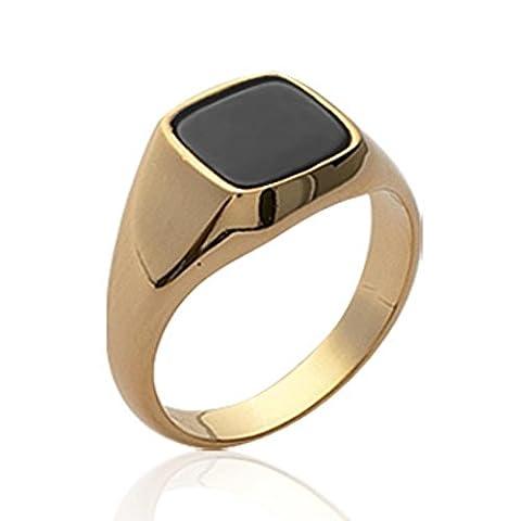 ISADY - Simon Gold - Herren Ring Damen Ring -