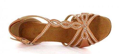 TDA - Cinturino a T donna 7.5cm Heel Bronze