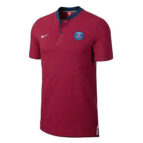 4d1047552 Nike Paris Saint-Germain Modern Authentic Grand Slam Men's Polo |  867821-410 | FOOTY.COM