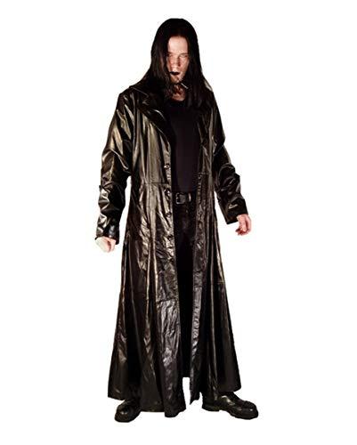 Vampire Slayer Herrenmantel in Kunstleder-Optik - Vampire Hunter Kostüm Männer