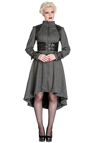 Spin Doctor cappotto ARWEN COAT JACKET 8030 grigio XXX-Large