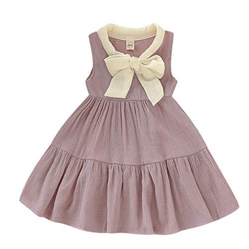 Pageantry Baby Mädchen Kleider Langarm Dot Bowknot Prinzessin Kleid Partykleid