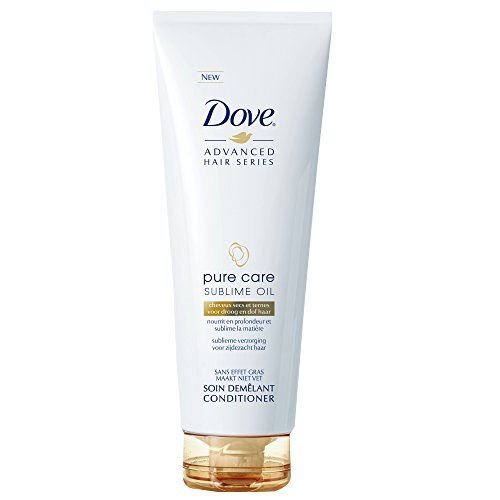 Dove Advanced Hair Series - Balsamo Pure Care Dry Oil, 250 ml, Confezione da 2