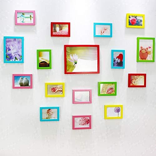 Lizp Creative Liebesform Bilderrahmen Set Verschiedene Größen 17 Bilder Modern Einfach...