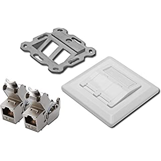 Assmann DN-93615 Digitus Professional CAT 6A Shielded Keystone Module, Tool-Free Installation