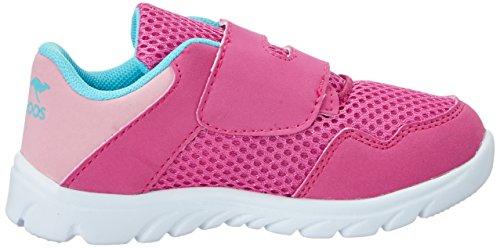 KangaROOS - Inlite 4003, Pantofole Bambina Pink (Magenta/Blue Radiance)