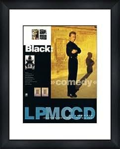 BLACK Comedy - Framed Original Advert