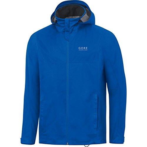 GORE WEAR Herren Essential Active Hooded Jacket Jacke, Brilliant Blau, M