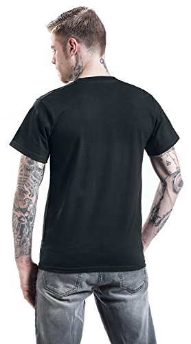 King Kerosin Garage Built T-Shirt schwarz Schwarz