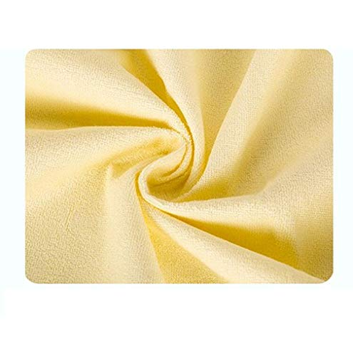 JAORUNNING Baby Elderly Urine Pad Waterproof Matrg Cotton Large Terry Tuch Baby Breathable Adult Matress Old Washable Sheets,Yellow,L