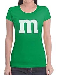 Süßes Outfit m Damen Karneval Fasching JGA Gruppen-Kostüme Frauen T-Shirt Slim Fit