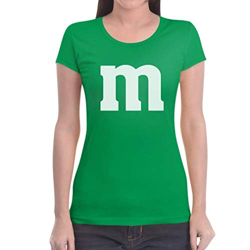 Süßes Outfit m Damen Karneval Fasching JGA Gruppen-Kostüme Frauen T-Shirt Slim Fit XX-Large Grün