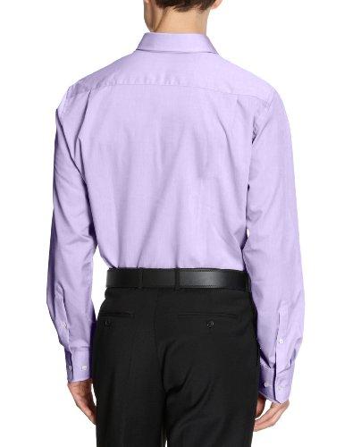 SeidenstickerChemise manches longues pour homme Regular fit Violet - Lilas