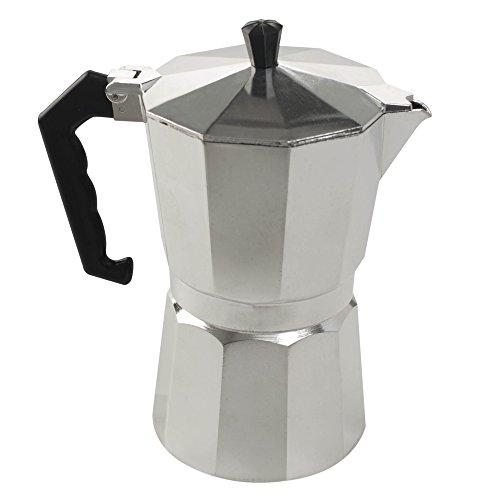 Cafetera aluminio italiana 9 tazas aluminio
