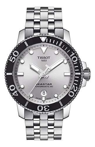 Tissot Herren-Uhren Analog Automatik One Size Edelstahl 87493512