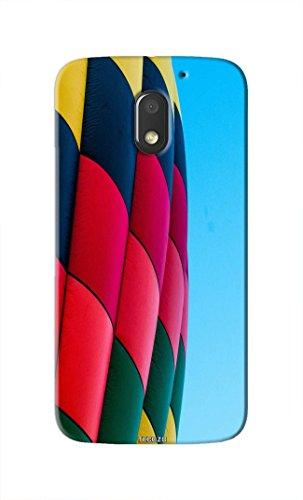 Tecozo Designer Printed Back Cover / Hard Case for Motorola Moto E3 (Hot air balloon Design/Colourful) - Multicolor - D286  available at amazon for Rs.259