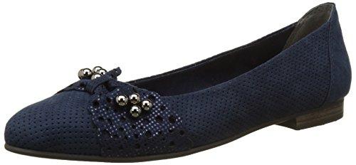 Marco Tozzi 22104, Ballerines Femme Bleu (Navy Comb 890)