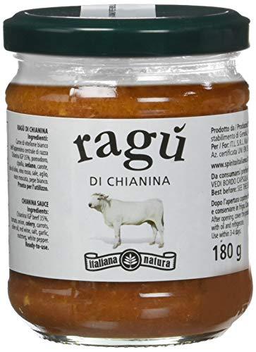 Italiana Natura Ragù di Chianina - 6 Confezioni da 180 G