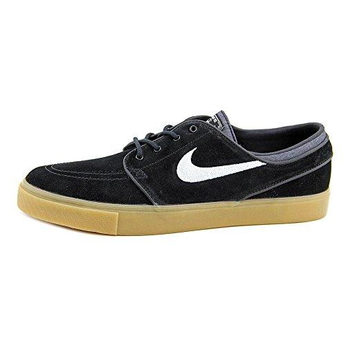 Nike Zoom Stefan Janoski Herren Skateboardschuhe Schwarz / Weiß / Braun (Black / White-Gum Light Brown)