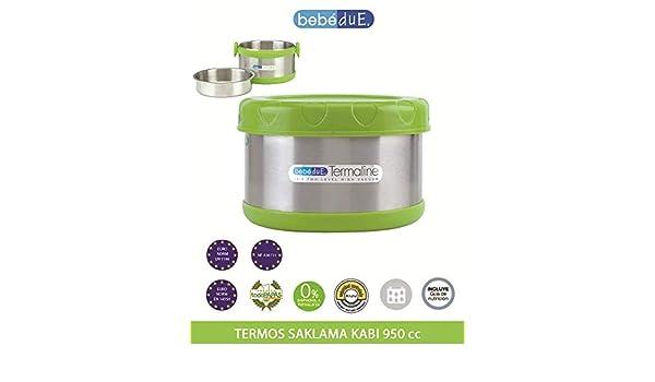 metallic 500 ml Beb/é Due BEB-042-02 Thermo Fl/üssigkeiten Porta