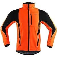 M.Baxter Fahrrad Trikot Winter Herbst Fahrradbekleidung Wasserdicht Winddicht Atmungsaktiv Warm Fleece Jacke