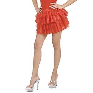 WIDMANN?Falda Fantasia Womens, rojo, talla única, vd-wdm1752d