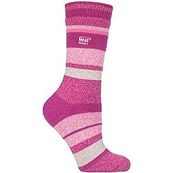 HEAT HOLDERS Lite - Mujer Calientes Térmicos Calcetines Suave Cómodo Divertidos Finos Colores Invierno para Frío 37-42 eu (Clayton)
