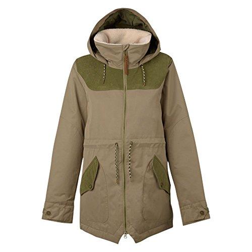 Burton Damen Prowess Jacket Snowboardjacke, Rucksack/Keef Cord, XL
