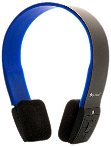 iTek Cuffie Stereo Bluetooth 4.0 con Microfono, Nero Blu