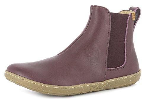 El Naturalista N5307 Coral Damen Chelsea Boots,Frauen Stiefel,Halbstiefel,Stiefelette,Bootie,Schlupfstiefel,Flach,Rioja,EU 39