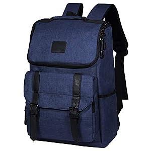414nT8PLbOL. SS300  - Tibes Mochila para portátil de 15.6 Pulgadas, Mochila Escolar Unisex para Adolescentes Mochila Antirrobo Impermeable Azul