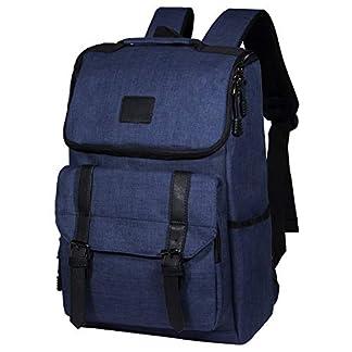 414nT8PLbOL. SS324  - Tibes Mochila para portátil de 15.6 Pulgadas, Mochila Escolar Unisex para Adolescentes Mochila Antirrobo Impermeable