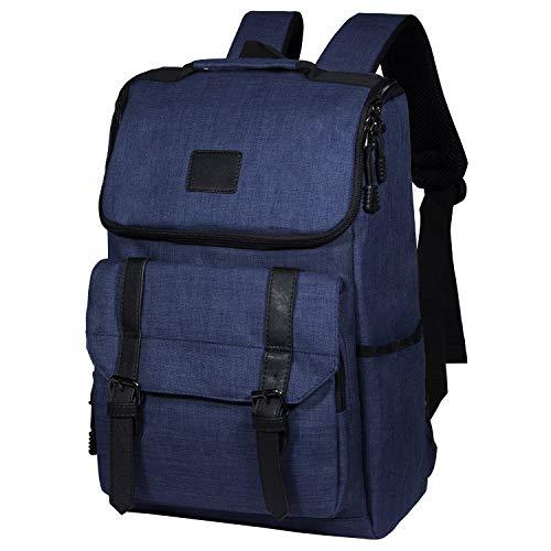 TIBES Laptop Rucksack Business Work Travel Schulrucksack Tagesrucksack Wasserdichter Rucksack für 15,6 Zoll