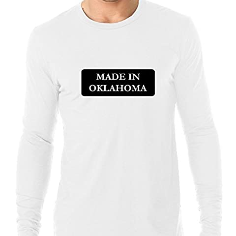 Hip Made In Oklahoma State Pride Men's Long Sleeve T-Shirt