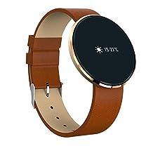 Bluetooth pulsera inteligente CF006 banda presión arterial monitor de frecuencia cardíaca fitness pulsera podómetro Smartband para teléfono Android , A1