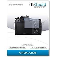 [2 Pezzi] Sony Cybershot DSC-RX10 IV Pellicola Protettiva disGuard® [Crystal Clear] Cristallino, Transparente, Invisibile / Ultra Resistente, Anti-Bolle, Effetto Anti-Impronte, Anti-Graffio / Protezione Schermo, Proteggi Schermo