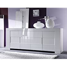 Amazon.it: credenza moderna bianca