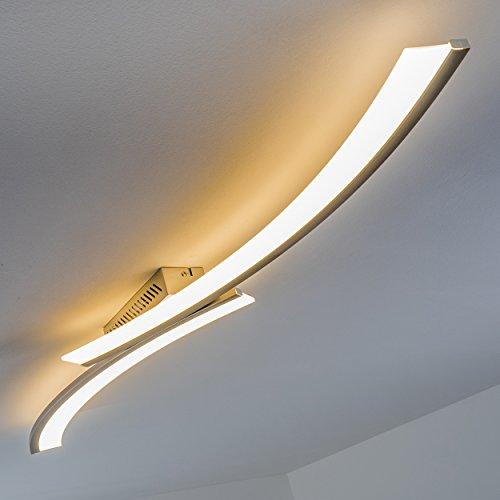 led decken leuchte orgia 3000 kelvin warmwei es gem tliches licht wohnzimmerlampe. Black Bedroom Furniture Sets. Home Design Ideas