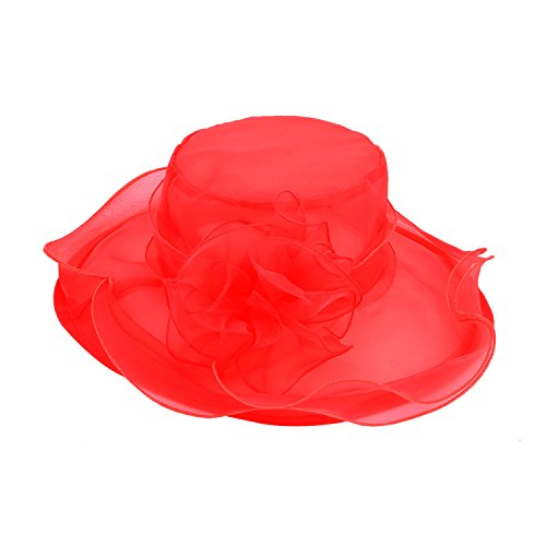 discoball-womens-sun-hat-floral-organza-flat-large-wide-brim-gauze-kentucky-derby-cap-folding-sun-su