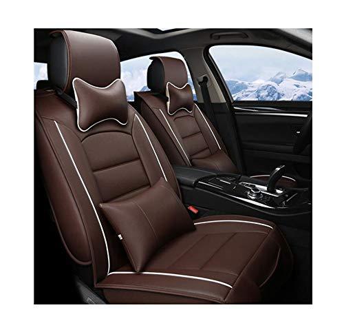 Herbst Und Winter All-Inclusive Autositzkissen Vollleder Autositz Auto Universal Sitzbezug (Farbe :...