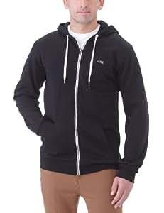 Vans Herren Hoodie M Core Basics Zip, Black, S, VQXSBLK