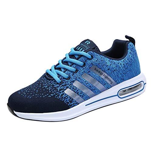 letter54 On Schuhe Herren Trekking Schuhe Herren Sneaker Plateau Elegante 2019 Neu 40 EU Leicht Gewebte Leichte Laufschuhe Für Herren Wild Atmungsaktive Mesh-Turnschuhe