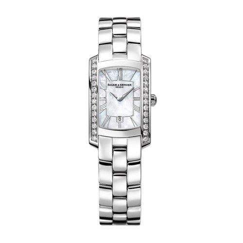 baume-mercier-hampton-milleis-steel-diamond-womens-watch-calendar-mop-dial-moa08745