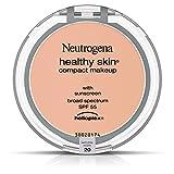 Neutrogena Healthy Skin Compact Makeup Foundation, Broad Spectrum Spf 55, Natural Ivory 20
