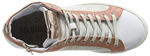 Goldmud  Lima Lady, Sneakers Basses femme Orange - Orange (combi coquille)