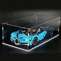 TONGJI Acrylic Display Case For Lego 42083 Technic Bugatti Chiron , Box Dustproof Protection Showcase (Model Not Included)