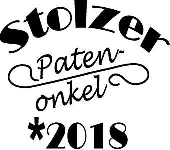 Mister Merchandise Herren Men V-Ausschnitt T-Shirt Stolzer Patenonkel 2018 Tee Shirt Neck bedruckt Weiß