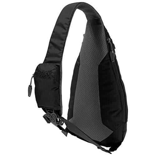 Jack Wolfskin Delta Bag Slingbag, Black, ONE Size