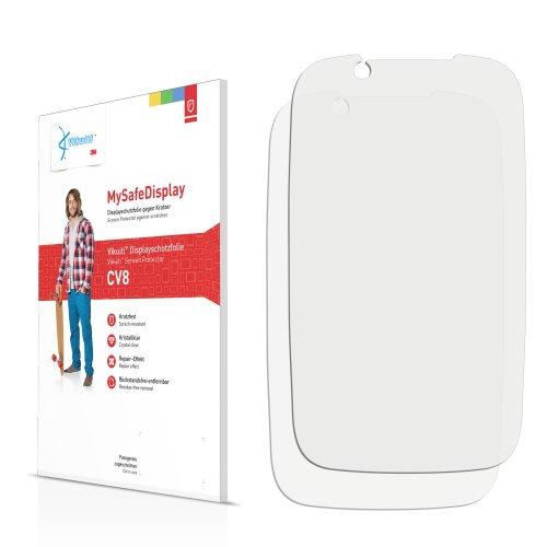 Vikuiti 2x Displayschutzfolie CV8 von 3M für Motorola XT531 Fire XT Schutzfolie Folie